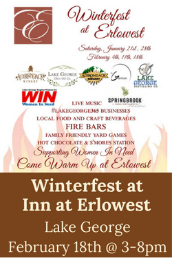 Winterfest at Erlowest Lake George - featuring Adk Winery