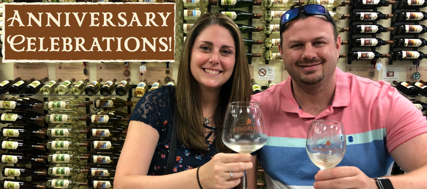 Celebrate Your Anniversary with a Wine Tasting at Adirondack Winery Lake George NY!