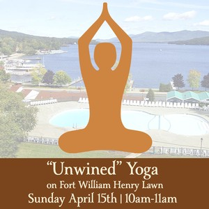 "Sunday April 15th 2018 Morning Yoga – ""Unwined with Yoga"" 10:00 – 11:00"