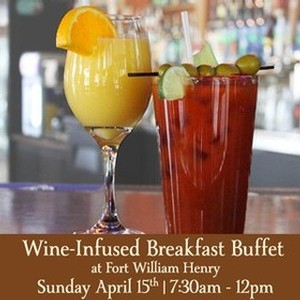 Adk Winery 10th Anniversary Wine-Infused Breakfast Buffet 4-15-18  7:30am-12pm
