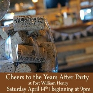 Keep the celebration going at our Cheers to the Years 10th Anniversary After party at the Fort William Henry