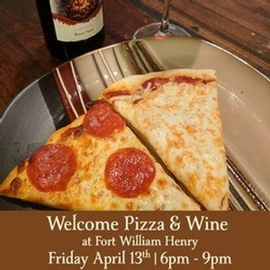 Adk Winery 10th Anniversary Welcome Pizza & Cocktails 4-13-18 starting at 6pm