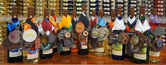 Adirondack Winery Award Winning Wines