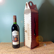 Adirondack Winery Single Bottle Wooden Gift Box