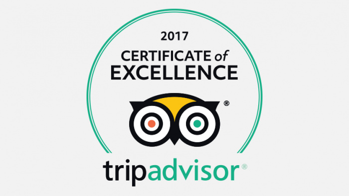 Adirondack Winery Trip Advisor Certificate of Excellence
