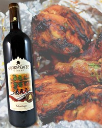 BBQ Chicken Pairs well with Meritage