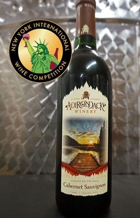 Adirondack Winery named New York Cabernet Sauvignon Winery of the Year