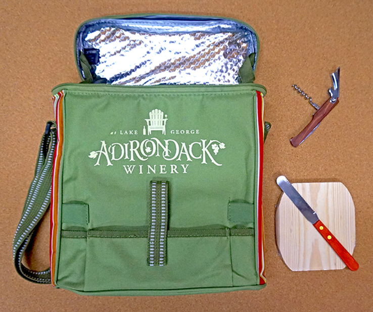 Adirondack Winery insulated cooler bag
