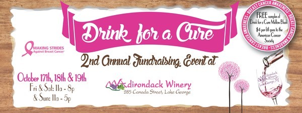 Adirondack Winery Drink-for-a-Cure Facebook Header