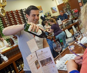 Darren at the Tasting Room