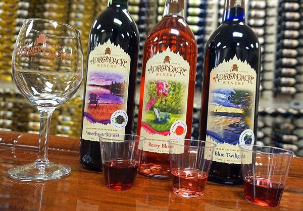 Adirondack Winery Fruity Wine Blend