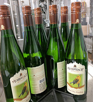 Semi Dry Riesling now available with screw caps