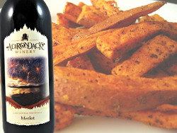 Sweet Potatoes paired with Merlot
