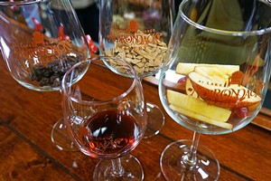 Wine sensory sample
