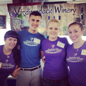 Adirondack Winery Event Staff