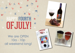 Adirondack Winery 4th of July Picks