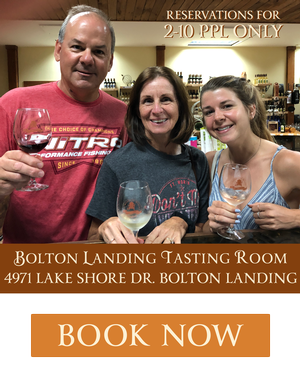 Book a Tasting at Bolton Landing