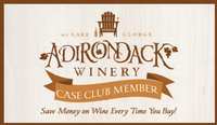 Adirondack Winery Case Club Member Card