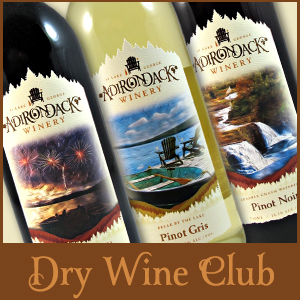 Adirondack Winery Dry Wine Club