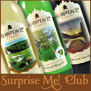 Adirondack Winery Surprise Me Wine Club