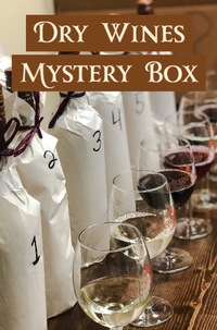 Holiday Mystery Box Wine Tasting Game - Dry Wines