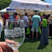 Adirondack Wine and Food Fest Adirondack winery Booth