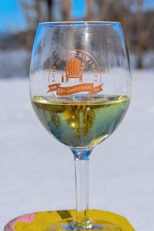 Adirondack Winery's 10th Anniversary Limited Edition Wine Glass