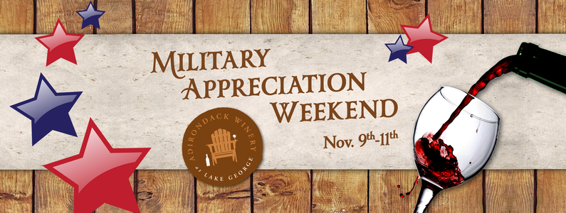 Military Appreciation at Adk Winery