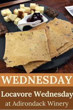 Locavore Wednesday at Adk Winery