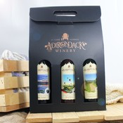 Adirondack Winery Black Trio Gift Box