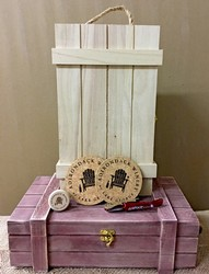 Adirondack Winery Wooden Wine Gift Boxes and accessories