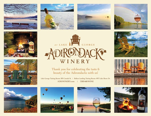 Adirondack Winery Calendar Back Cover