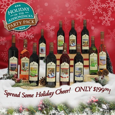 Adk Winery Holiday Party Pack