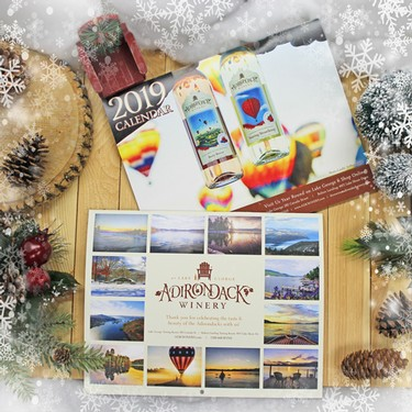 Adirondack Winery 2019 Wall Calendar