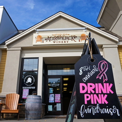 Join us for Drink Pink Weekends every weekend in October!