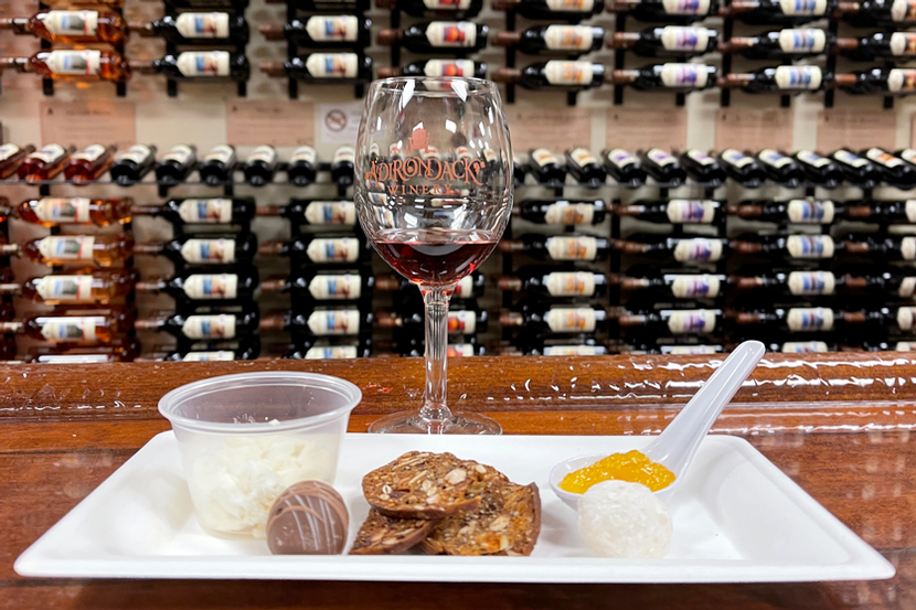 Add a Locavore Sampler to Your Next Wine Tasting at Adirondack Winery!