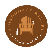 Adirondack Winery Dark Seal Logo