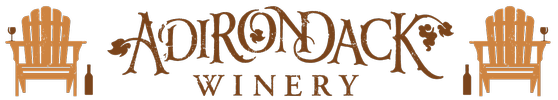 Adirondack Winery 2x Chair Logo