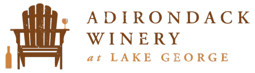 Adirondack Winery Formal Horizontal Logo