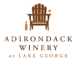Adirondack Winery Formal Vertical Logo