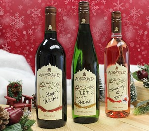 Personalized Holiday Wines