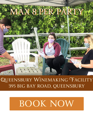 Wine Tastings Are Back May thru October at QBY!