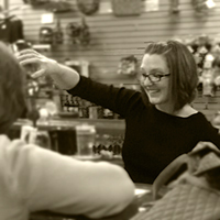 Jessica Podres, Tasting Room Associate, Adirondack Winery