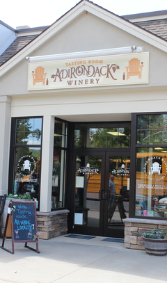 Adirondack Winery's Tasting Room on Canada Street 2