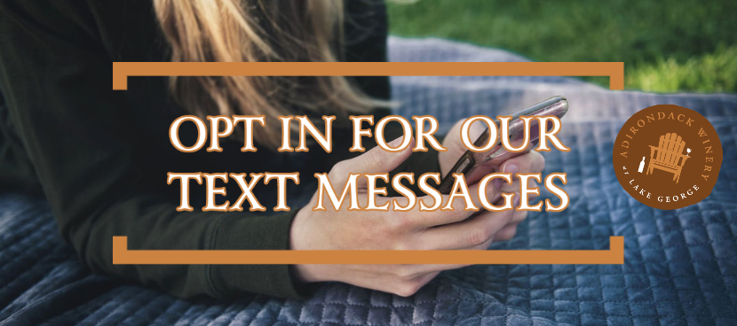 Opt In To Receive Texts From Us!