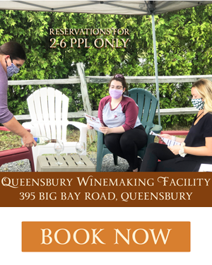 Book a Wine Tasting at Queensbury!