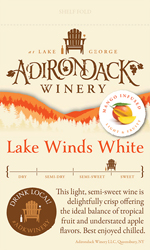 Lake Winds White Shelf Talker