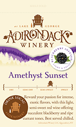 Amethyst Sunset Thumb Shelf Talker