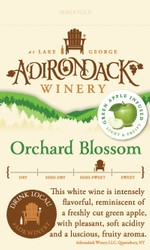Adk Winery Orchard Blossom Shelf Talker