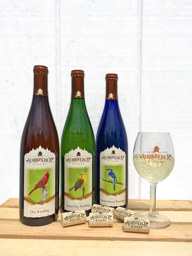 Adk Winery Riesling trio White
